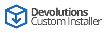 Devolutions Custom Installer