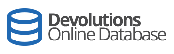 Devolutions Online Database