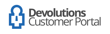 Devolutions Customer Portal